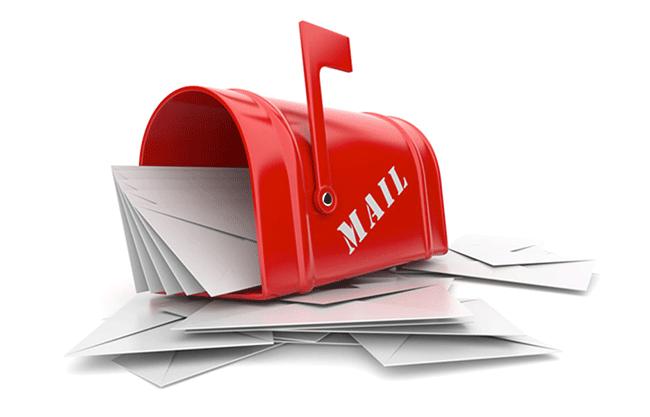 iş yerlerine mail gönderme